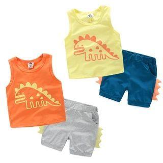 Kids Set: Printed Tank Top + Shorts 1050605475