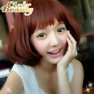 Short Full Wig - Curly 1034702364
