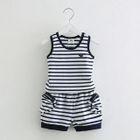 Kids Set: Stripe Tank Top + Shorts 1596