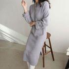 Button-Front Knit Dress 1596
