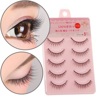 False Eyelashes (5 Pairs) 1053670463