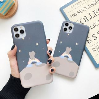Image of Bear Print Phone Case for iPhone 6S / 6S Plus / 7 / 7 Plus / 8 / 8 Plus / X / XS / XR / XS Max / 11 /11 Pro / 11 Pro Max