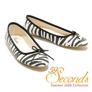Picture of 59 Seconds Zebra Print Flats 1011028908 (Flat Shoes, 59 Seconds Shoes, Hong Kong Shoes, Womens Shoes, Womens Flat Shoes)