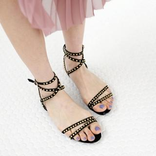 Buy Drama Metal Studded Sandals 1022702362