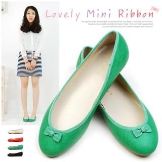 Buy Miz shoes Mini Bow Front Flats 1022528473