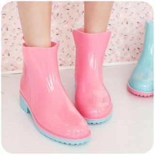 Low-Cut Rain Boots