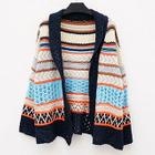 Open Knit Patterned Cardigan 1596