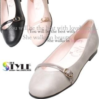 Buy Woorisin Buckle Front Flats 1023002066