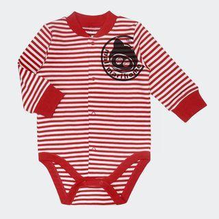 Baby Long-Sleeve Striped Bodysuit