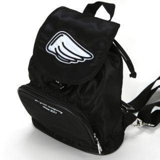 Buy GOOGIMS Wing Logo Back Pack (Black&White) 1010052688