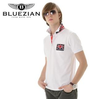 Picture of BLUEZIAN Polo Shirt Navy Blue - One Size 1022807839 (BLUEZIAN, Mens Shirts, Korea)