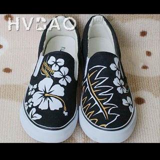 Buy HVBAO Flowers In Bloom Slip-Ons 1016480582