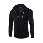 Plain Zip Fleece Jacket 1596