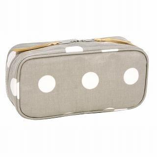 Buy ROOTOTE Dot Cosmetic Bag [AVION DE PAPIER - Zakka - A] Light Gray – One Size 1021516990