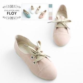 Buy FLOY SHOES Lace-Up Loafers 1023054704