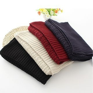 Ribbed Knit Scarf 1056867292