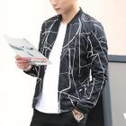 Patterned Zip Jacket 1596
