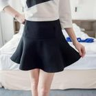 Inset Shorts A-Line Skirt 1596