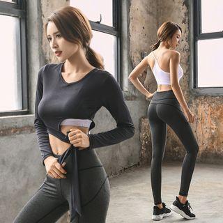 Long-sleeve | T-Shirt | Sport | Yoga | Pant