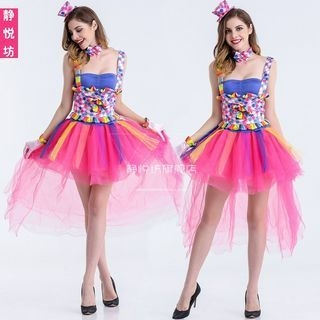 Circus Girl Party Costume 1059690798