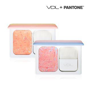 VDL - Expert Color Cheek Book Mini #2 Orange Coral 1060085003