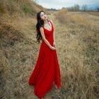 Sleeveless V-Neck Maxi Dress 1596