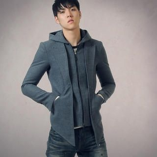 Picture of deepstyle Hooded Zip Jacket 1021542668 (deepstyle, Mens Outerwear, Korea)