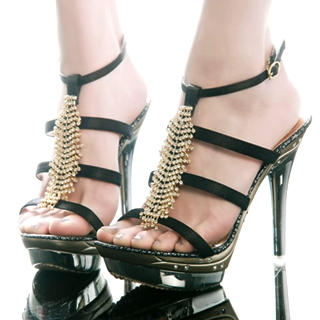e0962951ba86 Buy Kvoll Diamante Platform Sandals 1022502855