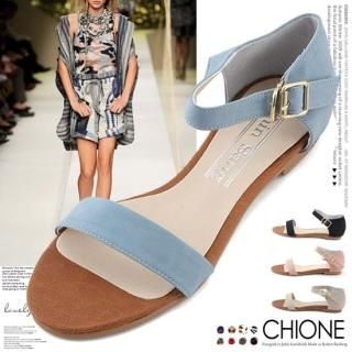 Picture of Chione Ankle-Strap Sandals 1022883611 (Sandals, Chione Shoes, Korea Shoes, Womens Shoes, Womens Sandals)