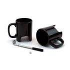 Plain Ceramic Cup with Golf Club Tea Spoon 1596