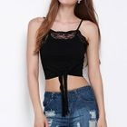 Cropped Lace Camisole Top 1596