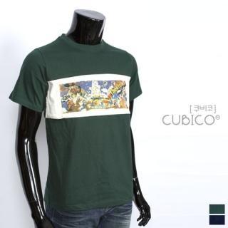 Buy CUBICO Short-Sleeve Printed Tee 1022581844