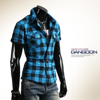 Buy DANGOON Short-Sleeve Check Shirt 1022690999