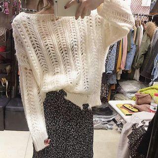 Rib Knit Pullover 1062142139