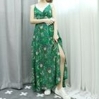 Sleeveless Floral Print Maxi Dress 1596