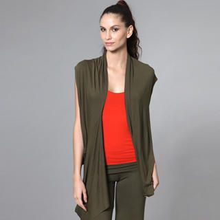 open-front-long-vest-green-one-size