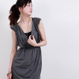 Picture of Sunbijou Shirred Wrap Dress 1022856266 (Sunbijou Dresses, Womens Dresses, South Korea Dresses)