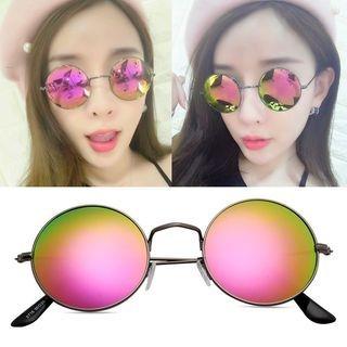 Round Frame Sunglasses 1053340087