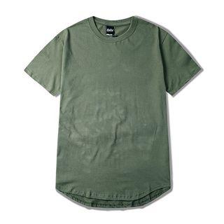 Image of Couple Matching Plain Short-Sleeve T-Shirt