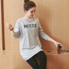 Lettering Maternity Long Top от YesStyle.com INT
