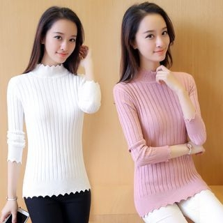 Ribbed Knit Top 1058479549