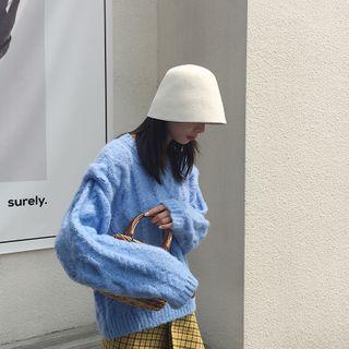 Bucket | White | Hat