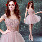 Sequined Bridesmaid Dress 1596