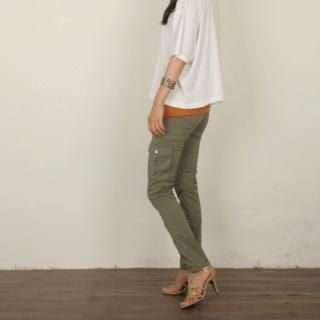 Buy Dorothy Pink Cargo Pocket Skinny Pants 1023005978