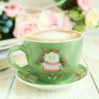 Cartoon Ceramic Coffee Cup Set 1596