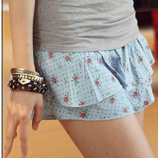 Buy PUFFY Floral Print Skirt 1022815037
