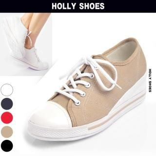 Buy Holly Shoes Lace-Up Wedge Sneakers 1022571442