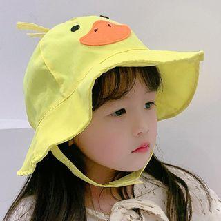 Cartoon | Bucket | Yellow | Duck | Size | Kid | Hat | One