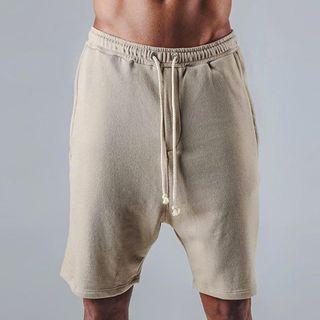 Image of Plain Harem Shorts