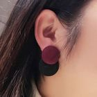 Color Block Earrings 1596